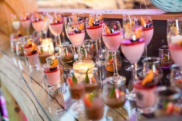 Dessertbuffet Hochzeit Kleinwalsertal