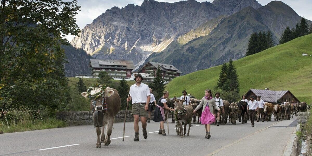 Viehscheid und Albabtrieb