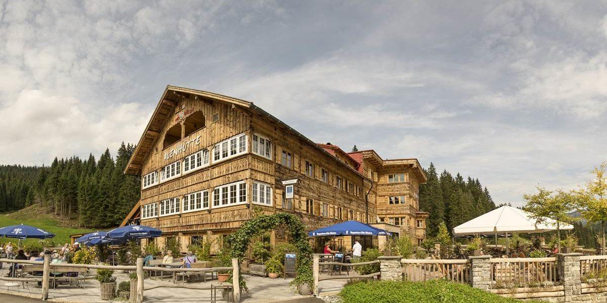 Sommer Berghütte Kleinwalsertal