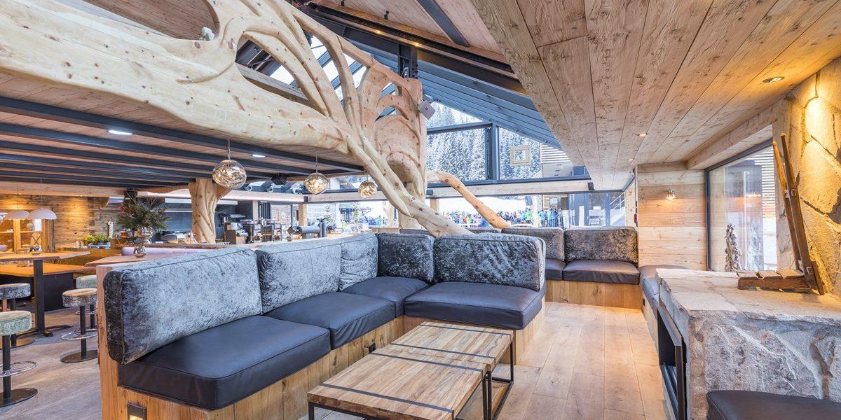 Chill Lounge Holzbar Apres Ski