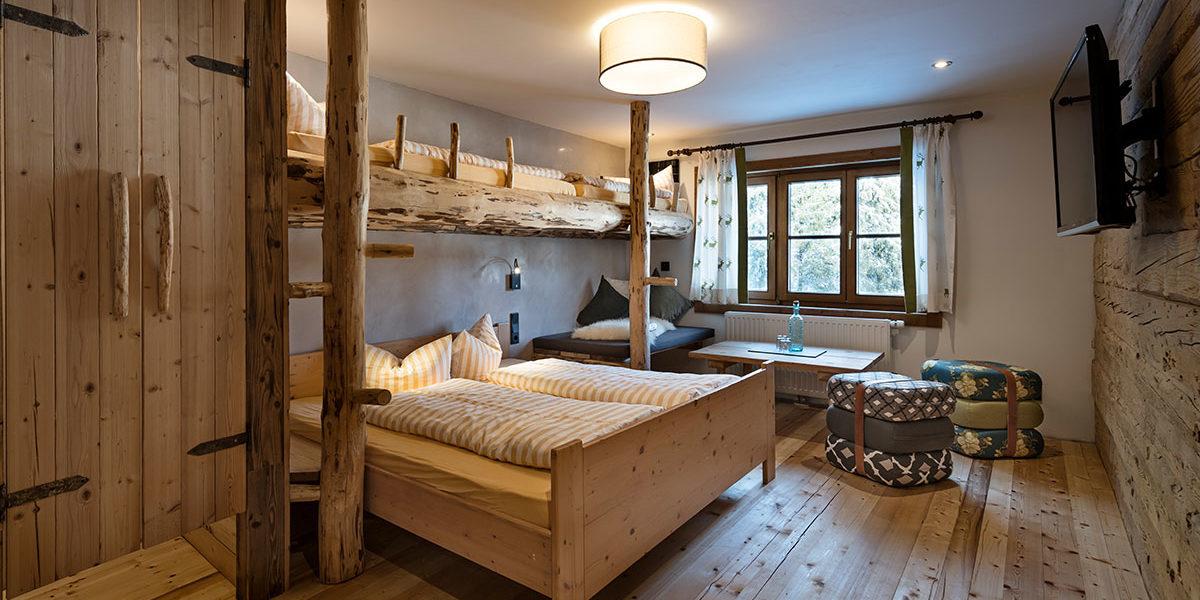 Ifen Auenhütte Vierbettzimmer Gottesacker