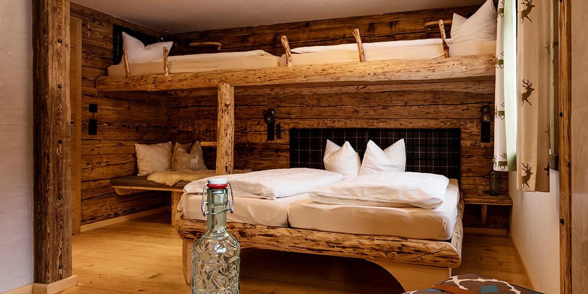 Hahnenkopfbetten - Auenhütte im Kleinwalsertal