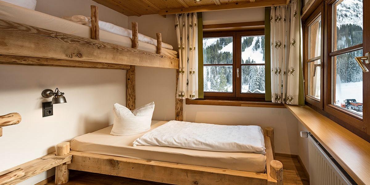 Berghütten Kinderzimmer - Familienzimmer Ifen - Kleinwalsertal