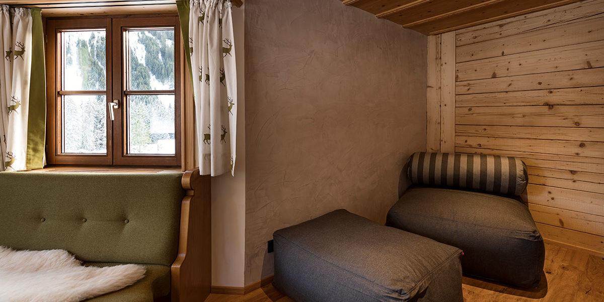 Sitzecke Familienzimmer Ifen