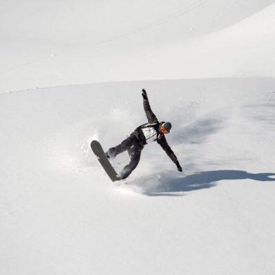 Traum-Snowboard-Tag